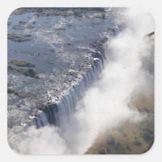 Victoria Falls, Zambesi River, Zambia - Square Sticker