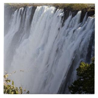 Victoria Falls, Zambesi River, Zambia. Tile