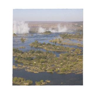 Victoria Falls, Zambesi River, Zambia - Zimbabwe 2 Notepad