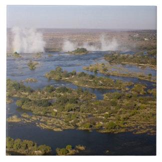 Victoria Falls, Zambesi River, Zambia - Zimbabwe 2 Tile