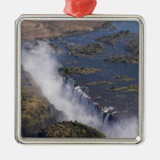 Victoria Falls, Zambesi River, Zambia - Zimbabwe Christmas Ornament