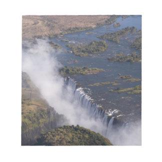 Victoria Falls, Zambesi River, Zambia - Zimbabwe Notepad