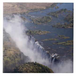 Victoria Falls, Zambesi River, Zambia - Zimbabwe Tile