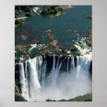Victoria Falls, Zambia to Zimbabwe border. The Poster