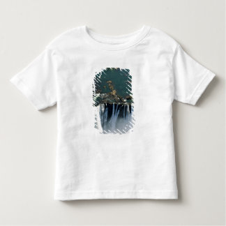 Victoria Falls, Zambia to Zimbabwe border. The Toddler T-Shirt