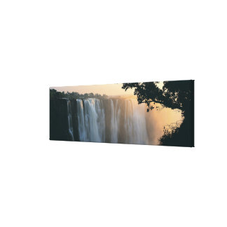 Victoria Falls, Zimbabwe, Africa Canvas Print