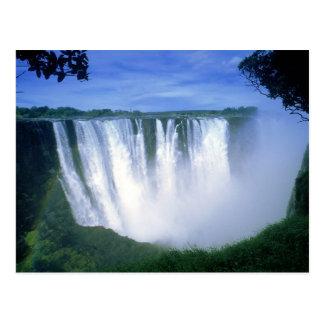 Victoria Falls Zimbabwe Africa Postcard