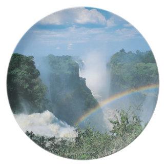 Victoria Falls, Zimbabwe Plate