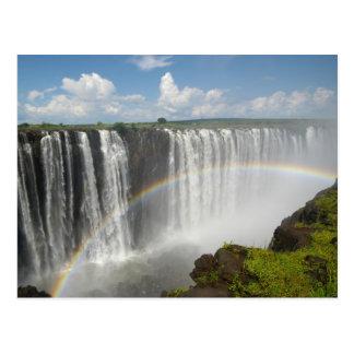Victoria Falls Zimbabwe Postcard
