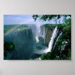 victoria falls, zimbabwe print