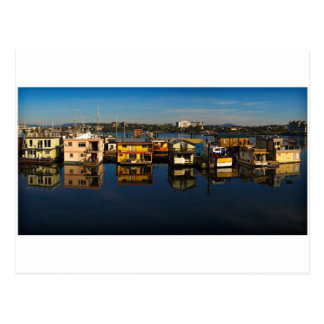 Victoria floating houses 3 postcard