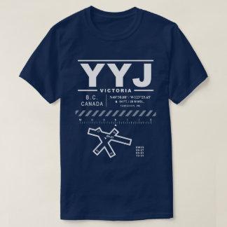 Victoria International Airport YYJ Tee Shirt: