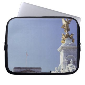 Victoria Monument and Buckingham Palace in Computer Sleeve