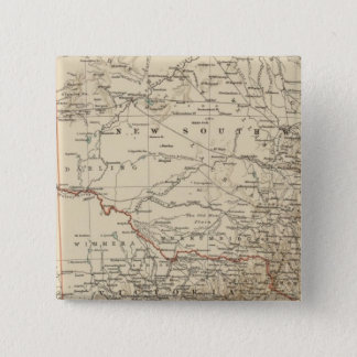 Victoria, New South Wales 15 Cm Square Badge