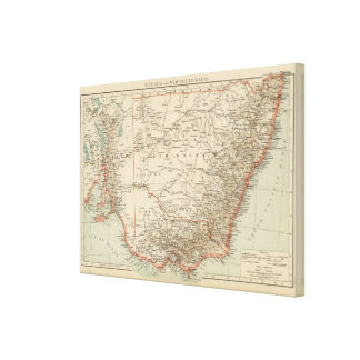Victoria, New South Wales Canvas Print