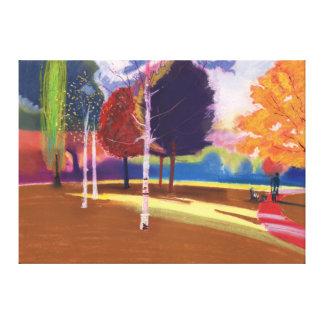 Victoria Park Bath Canvas Print