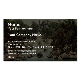 Victoria Park, Berlin, Germany rare Photochrom Business Card Templates