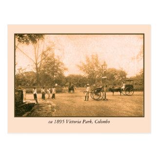 Victoria Park Colombo Ceylon (Sri Lanka) Postcard