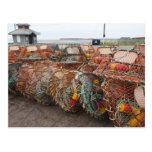 Victoria, Prince Edward Island. Crab pots Post Card