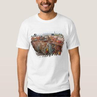 Victoria, Prince Edward Island. Crab pots T-shirt