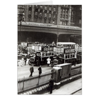 Victoria Station, 1920s Card