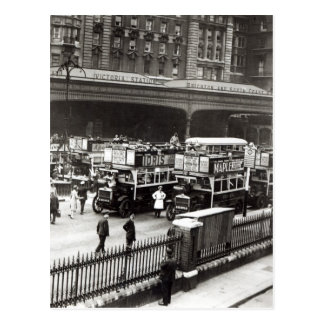 Victoria Station, 1920s Postcard