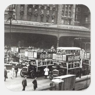 Victoria Station, 1920s Sticker
