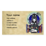 """Victoria"" Steam Punk Faerie Art Business Cards"