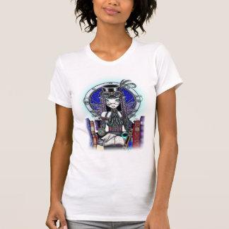 """""""Victoria"""" Steam Punk Faerie Art Top Tee Shirts"""