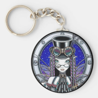 """Victoria"" Steam Punk Faerie Keychain"