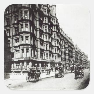 Victoria Street, London c.1900 Square Sticker