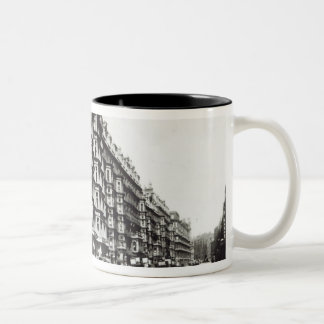 Victoria Street, London c.1900 Two-Tone Coffee Mug