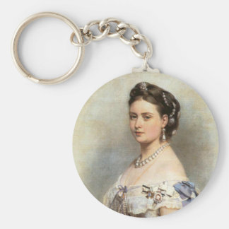 Victoria, The Princess Royal Basic Round Button Key Ring
