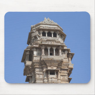 Victoria Tower in Chittorgarh Fort, India Mouse Pad