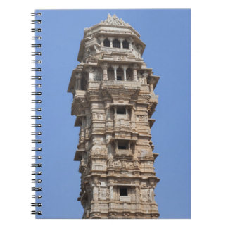 Victoria Tower in Chittorgarh Fort, India Notebooks