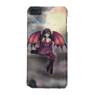 Victoria Vampire Fairy with Cat Halloween Art iPod Touch (5th Generation) Covers