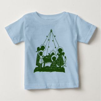 Victorian angels and Jesus silhouettes Tshirt