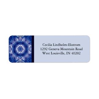 Victorian Arabesque, GLORIOSA Return Address Label