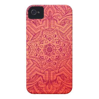 Victorian Arabesque, IDALIS - Flamingo iPhone 4 Case