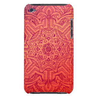 Victorian Arabesque, IDALIS - Flamingo iPod Touch Case-Mate Case