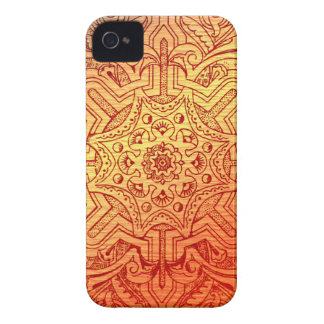 Victorian Arabesque, IDALIS - Sunset iPhone 4 Cover