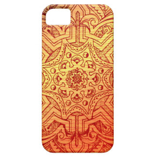 Victorian Arabesque, IDALIS - Sunset iPhone 5 Case