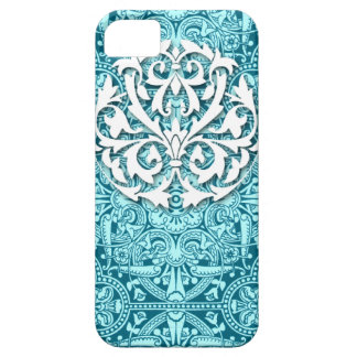 Victorian Arabesque, MAGIC CARPET in Teal & Aqua iPhone 5 Cases