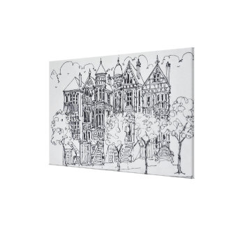 Victorian Architecture | San Francisco Canvas Print