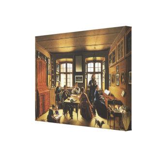 Victorian Art, Basel Family Concert by Gutzwiller Canvas Prints