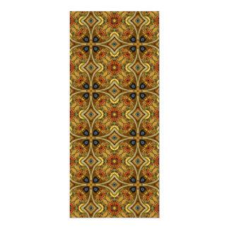 Victorian Art Nouveau Medieval Pattern Gold Announcements