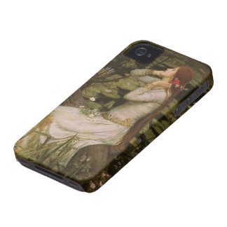 Victorian Art, Ophelia by the Pond by Waterhouse Case-Mate iPhone 4 Cases
