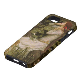 Victorian Art, Ophelia by the Pond by Waterhouse Tough iPhone 5 Case
