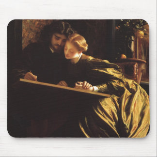 Victorian Art, Painter's Honeymoon by Leighton Mouse Pad