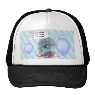 Victorian Baby, Mom's Shadow blue Cap